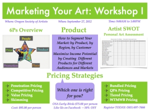 Marketing Your Art Workshop I